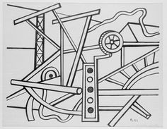 Agricultural Machinery by @artistleger #frenchart #fineart