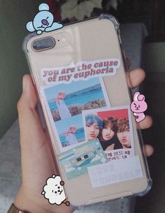 2018 CD love cute sticker cover iphone