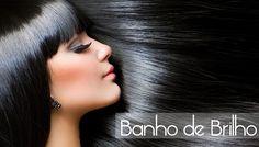 Aprenda a fazer um banho de brilho caseiro para cabelos pretos!