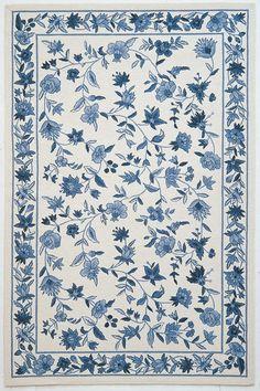 CLEARANCE Yard S Bleu Marine Bleu Blanc Polka Dot Spots tissu shabby chic