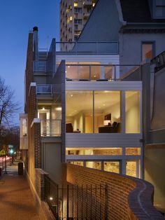 Cecil Baker Partners Architects, Center City Residence.