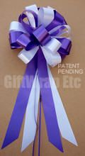 Two Color Wedding Bows