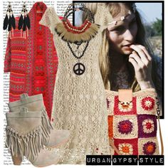 bohemian dress with shoes 8
