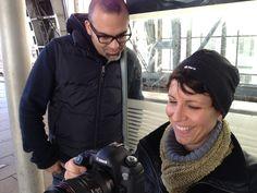 "#ImprovFilmProject | #Berlin | director @xagudo | ""A-Camera"" Juliane Block | Day 2 of shooting"