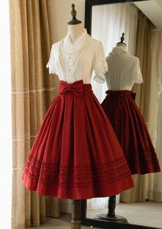 Pretty Outfits, Pretty Dresses, Cool Outfits, Old Fashion Dresses, Fashion Outfits, Mode Mori, Estilo Lolita, Fantasy Dress, Kawaii Clothes