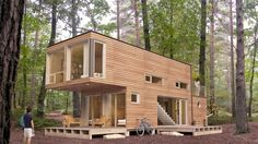 storage container homes - luxury shipping container home. most amazing shipping container homes. Shipping Container Guest House By Poteet Architects 1 Storag. Shipping Container Cost, Shipping Container Buildings, Shipping Container Workshop, Shipping Container Home Builders, Storage Container Homes, Building A Container Home, 40ft Container, Storage Containers, Container Cabin