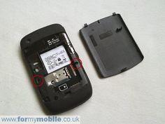 BlackBerry Curve 8520 disassembly