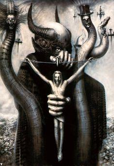Hans Rüdi Giger: Satan I