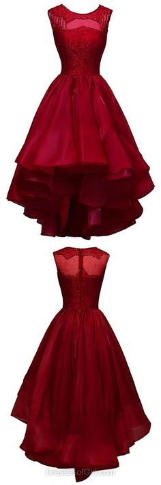 Lace Homecoming Dresses, Asymmetrical Party Gowns, Sequins Cocktail Dresses, Burgundy Prom Dresses, Cheap Formal Dresses