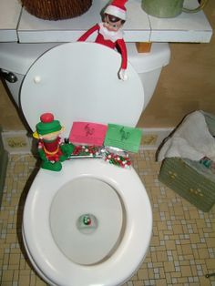 Elves elf on the shelf and on the shelf on pinterest for Elf on the shelf pooping on cookies