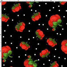 Pin Dots Black Fabric Yard