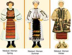 Romania Folk Natioanl Ethnic Popular Costumes