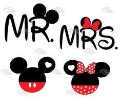 Mr Und Mrs Mickey Und Minnie Hochzeit Graphics Einsatz