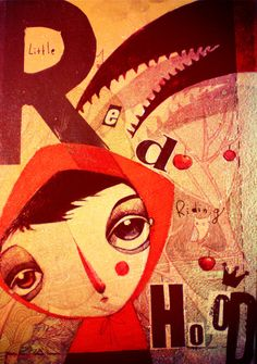 Little Red Riding Hood by ~KaterinaChadoulou on deviantART