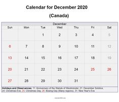 December 2020 Canada calendar with holidays and festivals available here for free download #december #december2020 #calendar2020 #holidays #canada #festival Canada Calendar, Calendar 2020, Festival Download, Quote Template, December Holidays, Calendar Wallpaper, Holiday Calendar, Holiday Festival, Cute Designs