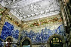 São Bento rail-station, Oporto