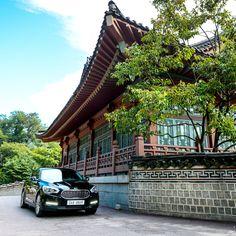 K9을 타고 싱그러움이 더해가는 송도 한옥마을 드라이브하다.  Driving to Songdo Hanok Village getting greener on K9