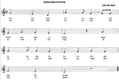 Anton kan toveren liedje