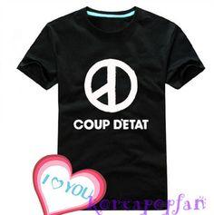 G Dragon BIGBANG GD Coup D'Etat T Shirt Tee KPOP New | eBay