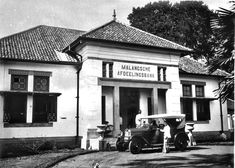 De Afdeelingsbank te Malang. circa 1930 Malang, Dutch East Indies, Old Pictures, Transportation, Street View, Mansions, House Styles, Antique Photos, Manor Houses