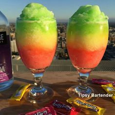 The Laffy Taffy Daiquiri - tipsybartender.com