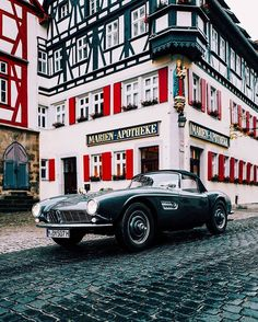 My story about driving the @bmwclassic 507 through Germany, now live on Petrolicious.com • #DriveTastefully
