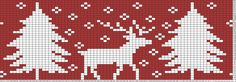Tricksy Knitter Charts: Children's Christmas sweater by Ashlee C
