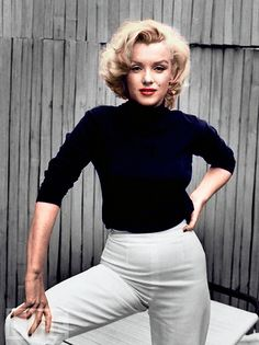 Marilyn Monroe by sasha065, via Flickr