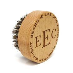Wood Beard Brush Personalized -Unique - Husband Gift - Toiletries - Mens Accessories - Wedding - Birthday - Groomsmen - 5 Year Anniversary