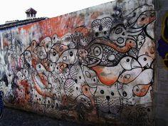 Grafiti en Granada  -photo by Victoria Lauren