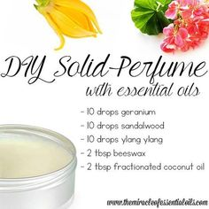 Making your own solid perfume is incredibly easy and oodles of fun! Below, find … Making your own solid perfume is incredibly easy and oodles of fun! Below, find the easiest DIY essential oil solid perfume recipe! Solid Perfume, Patchouli Essential Oil, Essential Oil Perfume, Essential Oil Uses, Diy Perfume Recipes, Homemade Perfume, Perfume Tommy Girl, Homemade Beauty Products, Organic Beauty