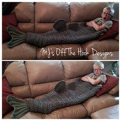 Large mouth bass blanket. pattern for sale on ravelry