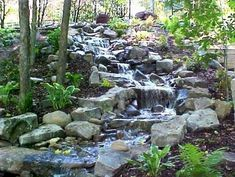 Gorgeous 75 Amazing Backyard Pond and Water Feature Landscaping Ideas #andWater #Backyard #Feature #landscaping #Pond