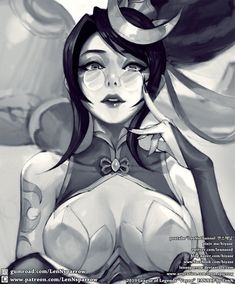 ArtStation - LOL FIRE CRACKER VAYNE Sketch WIP [PATREON REWARD] , Shin TaeHwan (LenN) Face Characters, Fantasy Characters, Character Art, Character Design, Cartoon Video Games, Fanart, Lol League Of Legends, Anime Demon, Fantastic Art