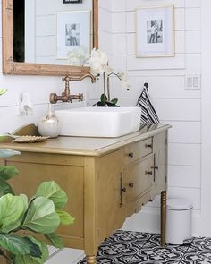 guest Bathroom Decor 7 Refresh Ideas to Create a Welcoming Guest Bathroom - Joyful Derivatives Matching Paint Colors, Paint Colors For Home, Magnolia Paint Colors, Installing Shiplap, Window Seat Storage, Farmhouse Paint Colors, Faux Fireplace, Fireplaces, Bathroom Inspiration