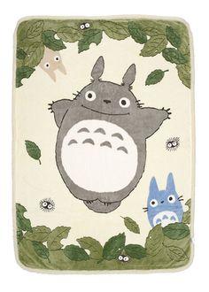 My Neighbor Totoro - Blanket (Oak Leaves) featured on Jzool.com YEEEEEEEES!!!!!!