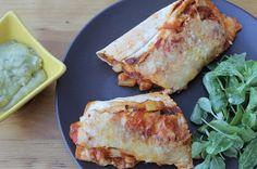 Papillons d'Onyx: [FoodMood] Les enchiladas au poulet et aux légumes... Meat, Chicken, Food, Papillons, Kitchens, Essen, Meals, Yemek, Eten