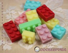 Sabonete Lego