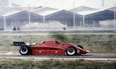 Gilles Villeneuve...Scuderia Ferrari SpA SEFAC...Ferrari 126CK...Motor Ferrari 021 V6 t 1.5...Test Italia 1981