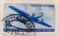 https://flic.kr/p/92coPH | beautiful stamp DDR GDR 15 pf. Briefmarke timbre GDR DDR Deutsche Lufthansa Airplane selo postage Deutsche Demokratische Republik Ost-Deutschland German Democratic Republic | *** *** *** I'm stampolina and I love to take photos of stamps. Thanks for visiting this pages on flickr.  I'm neither a typical collector of stamps, nor a stamp dealer. I'm only a stamp photograph. I'm fascinated of the fine close-up structures which are hidden in this small stamp-pictures…