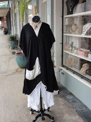 Tina Givens Charlie Tunic in Black