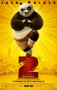 ♥♥♥2011 - Kung Fu Panda 2 -- This sequel to KUNG FU PANDA, sees Po now living his dream as The Dragon Warrior, protecting the Valley of Peace alongside the Furious Five; but his new life is threatened by the emergence of a formidable new villain who plans to use a secret, unstoppable weapon to conquer China and destroy kung fu.