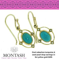 #Turquoise is a #gemstone steeped in lore & tradition and is a healing & balancing stone! #giftideas #montashwishlist #montashjewellerydesign