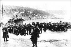 9TH APRIL 1940  Germany invades Norway; major Norwegian ports occupied by advance detachments of German troops. Simultaneously. German troopships, covered by aircraft, enter Copenhagen harbour as Denmark becomes occupied territory.