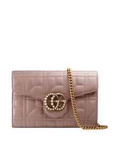 d7790954be7f25 Gucci GG Marmont Pearly Matelass& Mini Bag Gucci Mini Bag, Gucci Bags, Mini  Purse