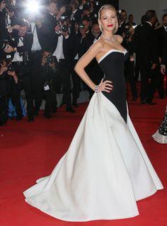 Les plus belles robes du Festival de Cannes Blake Lively en robe Gucci Première et bijoux Lorraine Schwartz