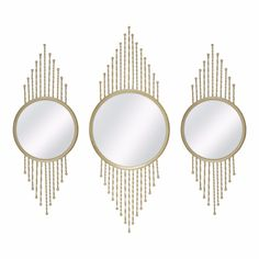 Shop for Decor in Home. Buy products such as Letzia x Framed Mirror, Better Homes & Gardens Gold 3 PC Metal Mirror Trio at Walmart and save.