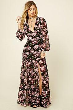 Maxi Dresses | Long Sleeved, Sleeveless + More | Forever 21