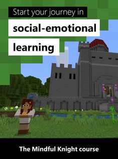 Did you know 79% of employers say SEL skills are the most important qualities for job success? Learn how Minecraft Education Edition can support social-emotional growth in this course on the Mindful Knight. Social Emotional Learning, Problem Solving, Kid Stuff, Minecraft, Back To School, Knight, Mindfulness, Journey, Success
