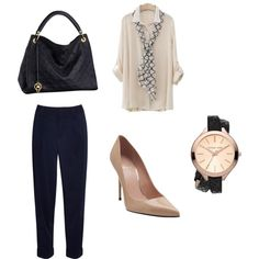 """Business Meeting"" by savyshopper on Polyvore"